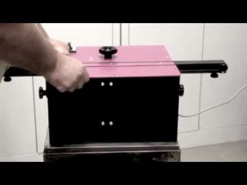 ROLEI® BE 5 Stationary | Sheet Metal Deburring Machine | CS Unitec