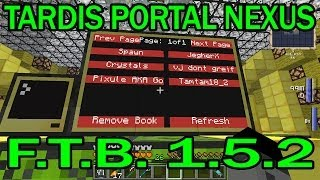 Mystcraft Tardis Portal Nexus
