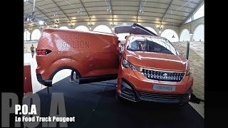 Food Truck Peugeot ou le Bistrot du Lion (P.O.A)