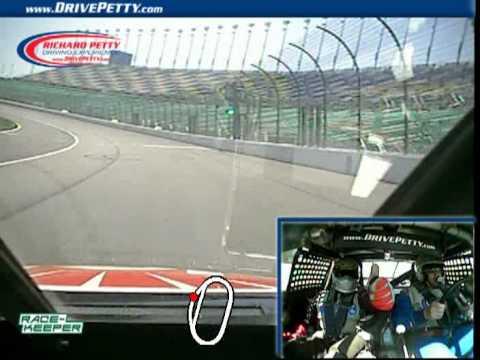 Richard Petty Driving Experience Kansas Speedway