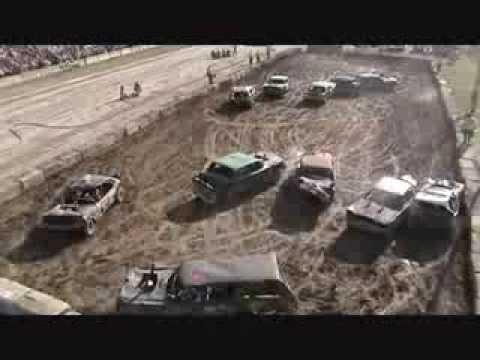 Brews Bros Demolition Derby - Ottawa County Fair - Sunday, July 22, 2007
