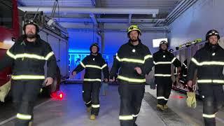 Jerusalema Challenge - Räddningstjänsten Gotland, Hemse brandstation