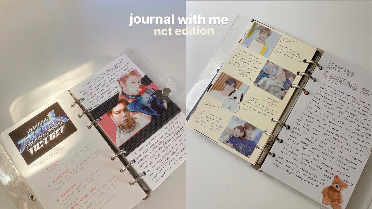 journal with me _ nct edition 🏹