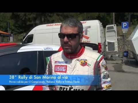 38° Rally Di San Marino - Interviste Ai Piloti Protagonisti