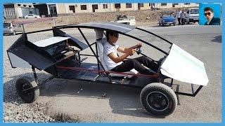 Студент из Андижана построил электромобиль. Молодец!(В этом видео вы узнаете про студента из Андижана, который построил свой собственный электромобиль. Вся..., 2016-07-26T11:59:37.000Z)