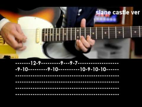 How To Play Californication Guitar Solo [slane castle, CD] RHCP cover lesson tab