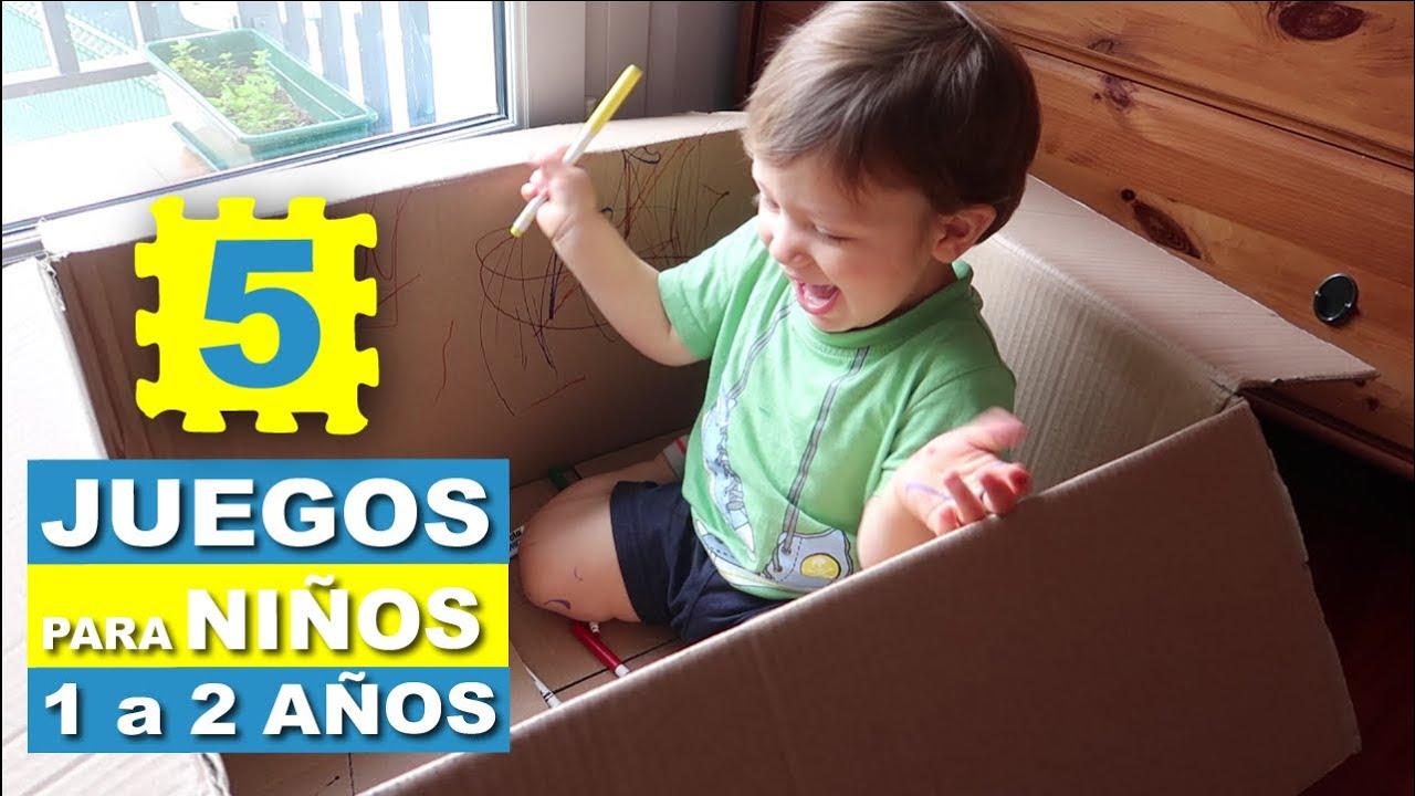 Juegos sencillos para niños de 1 a 2 años