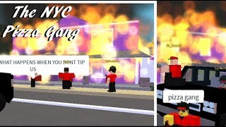 ROBLOX NYC Pizza Gang (Trolling)