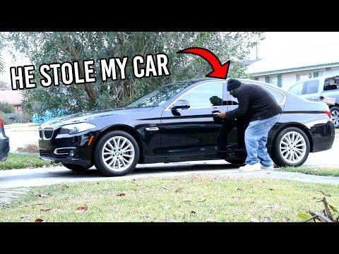 STOLEN CAR PRANK ON GIRLFRIEND!
