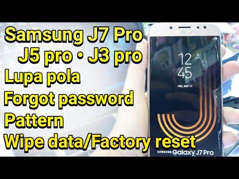 Wipe Data Factory Hard Reset Samsung J Pro 2017 J7 Pro J5 Pro J3 Pro
