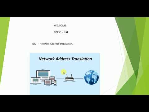 What is NAT (Network Address Translation ) Part 1