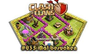 Let's play Clash Of Clans #035 - Mal besuchen [Deutsch / German][LP iOS IPhone]