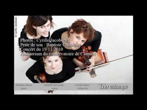Trio Estampe - Lili Boulanger