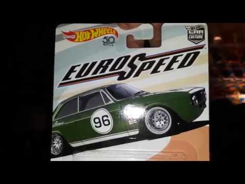 2018 Hot Wheels Euro Speed Car Culture Set Youtube