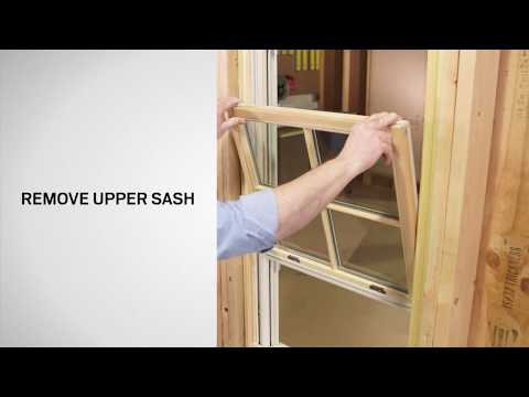 Jamb Liner Replacement on E-Series Double-Hung Windows | Andersen Windows