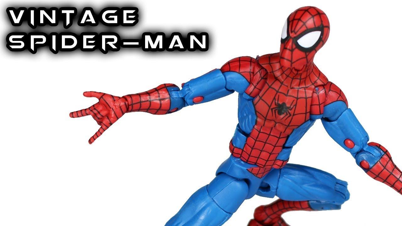 Kids Toys Action Figure: Marvel Legends SPIDER-MAN VINTAGE Series Action Figure Toy