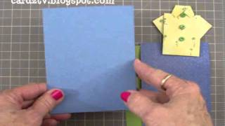 Father's Day Origami Shirt Card