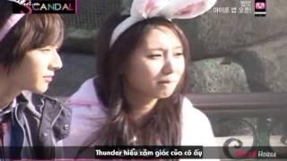 [Vietsub] Mnet Scandal - MBLAQ Thunder Ep 2 (MBLAQ House@KST)