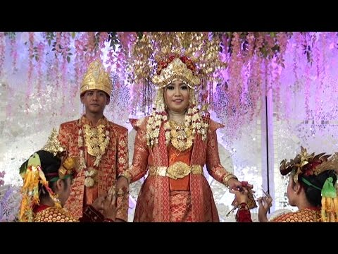Tari Pagar Pengantin Acara Pernikahan Lastri & Nazori Kayuagung