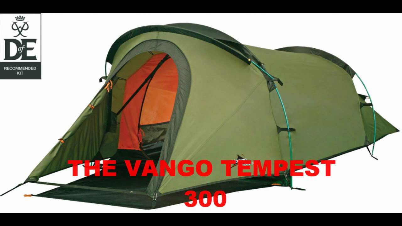 Vango Tempest 300 3 person hiking u0026 c&ing tent compact lightweight & Vango Tempest 300 3 person hiking u0026 camping tent compact ...