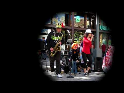 Music, Love and Antics on Third Street Promenade with the Love Ambassadors, Dr. Paul & Reisa!