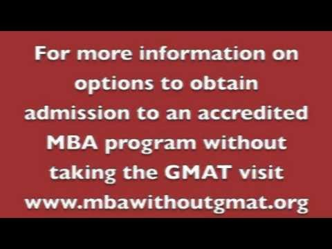 7 reasons a university may offer a gmat waiver youtube spiritdancerdesigns Gallery
