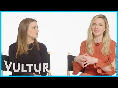Brit Marling's First Paid Acting Job Was Kissing Gillian Jacobs