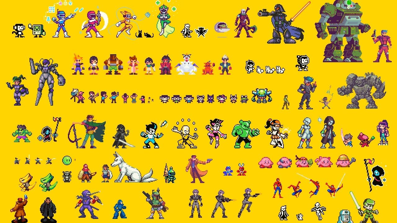Download Pixel Art Sprite Style Discussion (...and compilation of all my sprites!)