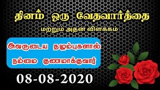 Today Bible Verse In Tamil   Today Bible Verse   Today's Bible Verse   Bible Verse Today 08.08.2020
