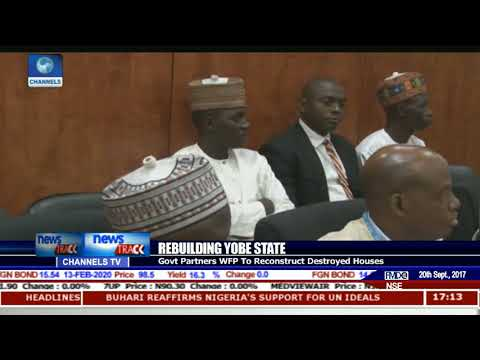 Rebuilding Yobe State: Govt Partners WFP To Reconstruct Destroyed Houses
