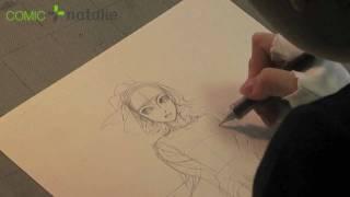 Kaoru Mori draws Amir (1 of 6)