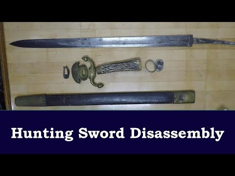 Hunting Sword Disassembly
