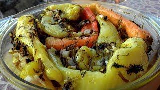 Острый перец Цицак по-армянски (в масле)/Hot pepper Tsitsak in Armenian (in oil)
