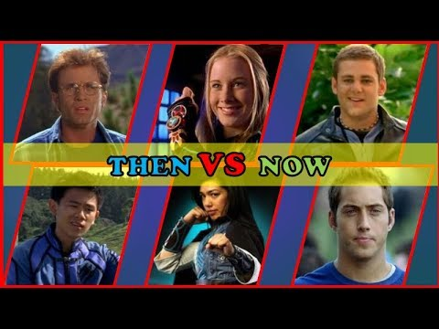 All BluePower Rangers Then And Now 2018 Blue Power Rangers Casts Before And After 2018