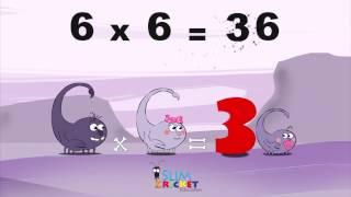 Mathemagics Multiplication - L'histoire de 6x6