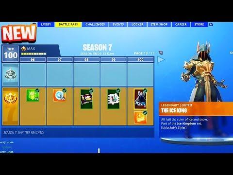 New Season 7 Battle Pass Tier 100 Skin In Fortnite 2 Million