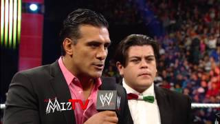 "The Miz hosts a controversial edition of ""Miz TV"" when the guests a..."