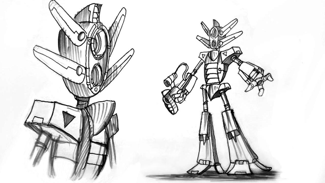 robot manga