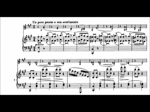 Brahms - Violin Sonata No. 3 in D minor, Op. 108 (Perlman & Ashkenazy) Complete with Sheet Music
