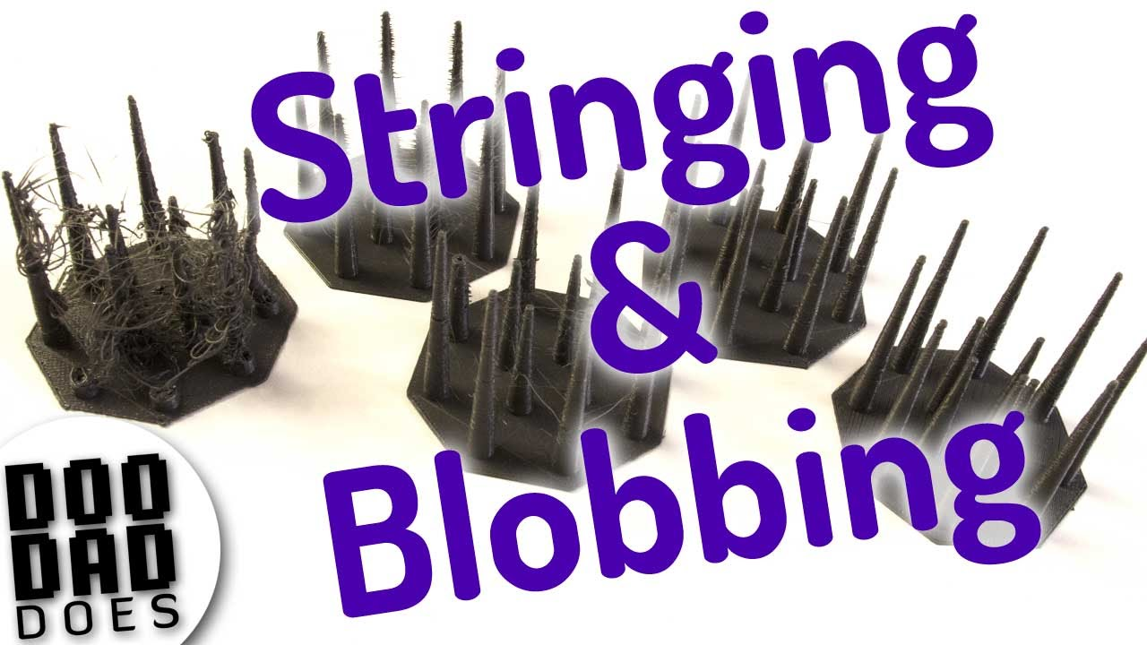 3d printing troubleshooting blobs