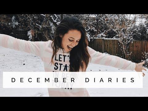 PT SESSIONS , MARIAH CAREY & PARTY DRAMA'S | DECEMBER DIARIES | Danielle Peazer