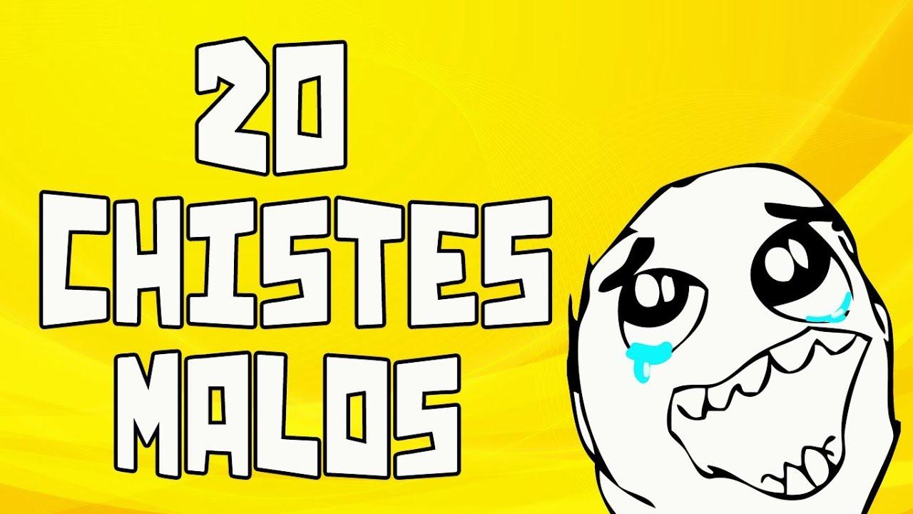 20 Chistes malos que te harán reír #10