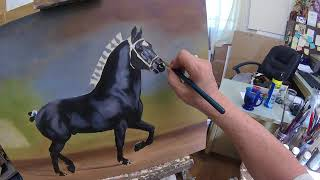 Oil Painting - First Layer Part 10