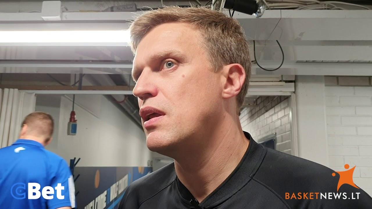 """Adomaitis: """"Norėjome neleisti suomiams įmesti 50 taškų"""""""