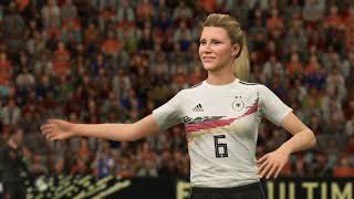 Women s football game between Netherland and Germany The girls contributed so many goals XSX 4k