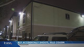 Accidental shooting in Houston