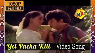 Sathyaraj & Radha : Love Proposing Song : Yei Pacha Kili Video Song