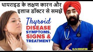 Rx Thyroid #1 (Hindi) थायराइड क्या है और क्यों होता है | Understand Hypothyroid | Dr.Education