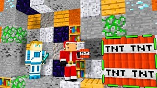 BITWA NA TNT POD ZIEMIĄ! Minecraft MWK & DOKNES