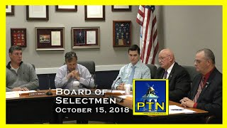 Pembroke Board of Selectmen - Town Meeting Pre. with Advisory and  Moderator